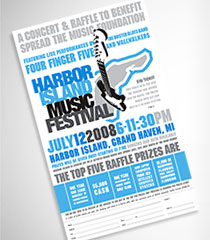 Harbor Island Music Festival : Poster/Ticket